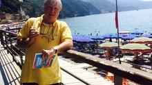 Francis Brennan on holidays in Cinque Terre