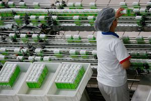 I am full of admiration for all those factory workers and supermarket workers who have to keep the food coming. Stock photo: Getty Images