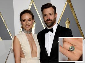 HOLLYWOOD, CA - FEBRUARY 28:  Actress Olivia Wilde (L) and actor Jason Sudeikis attend the 88th Annual Academy Awards at Hollywood & Highland Center on February 28, 2016 in Hollywood, California.  (Photo by Ethan Miller/Getty Images)