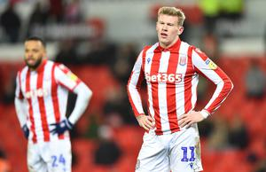 Stoke City midfielder James McClean. Photo by Nathan Stirk/Getty Images