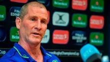 Leinster Senior Coach Stuart Lancaster during a Press Conference in Leinster Rugby HQ, UCD in Dublin. Photo by Brendan Moran/Sportsfile