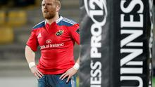 Keith Earls, Munster. Guinness PRO12 Round 13, Zebre v Munster, Stadio XXV Aprile, Parma, Italy. Picture credit: Roberto Bregani / SPORTSFILE
