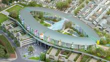 How the planned new national children's hospital will look