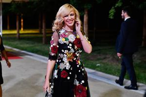 Kylie Minogue is seen backstage ahead of Bocelli and Zanetti Night on May 25, 2016 in Rho, Italy.  (Photo by Jacopo Raule/Getty Images for Bocelli & Zanetti Night)