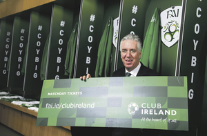 Agreement: Former FAI chief John Delaney. Picture: Sportsfile