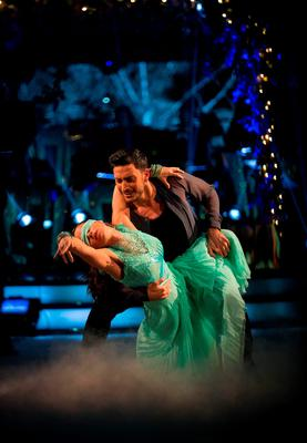 Georgia May Foote and Giovanni Pernice during the final of Strictly Come Dancing.Guy Levy/BBC/PA Wire