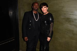 Kris Jenner (L) and Corey Gamble attend the Balmain and Olivier Rousteing after the Met Gala Celebration on May 02, 2016 in New York, New York.  (Photo by Nicholas Hunt/Getty Images for Balmain)