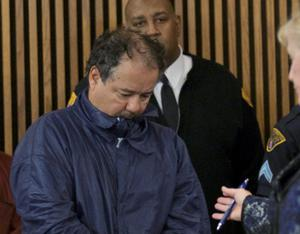 Ariel Castro appears in court for his initial appearance in Cleveland, Ohio