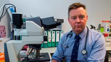 Dr Patrick Thornton at the Hermitage Medical Clinic in Dublin. Photo: Douglas O'Connor