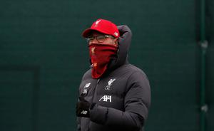 Liverpool have returned to training ahead of a resumption of Premier League action. Martin Rickett/PA Wire.