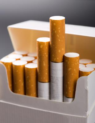 Smoking just one to four cigarettes a day can triple a person's risk of cardiovascular disease