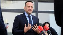 Volunteer: Leo Varadkar is ready to return to the medical frontline in the fight against Covid-19. Photo: Frank McGrath
