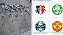 Manchester United have denied being linked to a firm embroiled in Fifa corruption scandal - despite them being listed as a club partner on Traffic Sports' website
