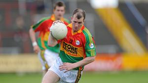 Mark Carpenter made the podium in the selection of the best Carlow footballer of the last 50 years. Picture credit: Matt Browne / SPORTSFILE