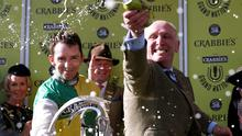 Last year's winning trainer Oliver Sherwood and jockey Leighton Aspell are trying to emulate their 2015 success on Saturday