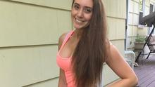 Sarah Francati battled with an eating disorder in her early teens Photo Credit: Instagram @Fit_Sarah177