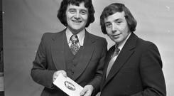 Larry Gogan's Just a Minute Quiz was popular for decades. Photo: Part of the NPA and Independent Newspapers Ireland