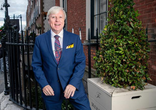 Francis Brennan pictured in the  Merrion Hotel last week. Pic: Marc O'Sullivan