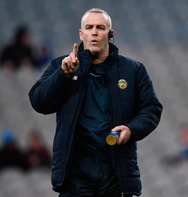 Kevin Martin has shown his Leinster rivals Brian Cody, Mícheál Donoghue, Pat Gilroy and Davy Fitzgerald that Offaly won't go quietly from the top tier in Leinster. Photo: Sportsfile