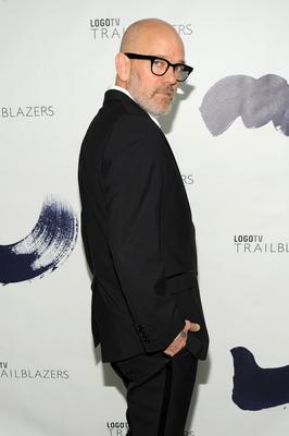 """NEW YORK, NY - JUNE 23:  Singer, producer Michael Stipe attends Logo TV's """"Trailblazers"""" at the Cathedral of St. John the Divine on June 23, 2014 in New York City.  (Photo by Bryan Bedder/Getty Images for Logo TV)"""