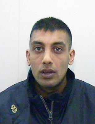 Ajaz Raja, 32, who was jailed for two years and four months for possession of cocaine with intent to supply at Manchester Crown Court. Photo: Greater Manchester Police/PA Wire