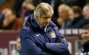 Manuel Pellegrini can see the title slipping away