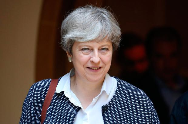 Theresa May has consistently declined to negotiate publicly. Photo: REUTERS
