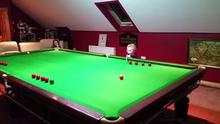 Offaly youngster Adam Wynne (3) has become a YouTube star following a video of his snooker skills that was posted online last week