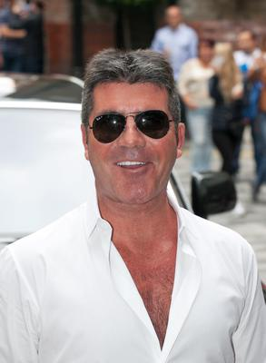 Simon Cowell arrives at the X-Factor press launch at the Ham Yard Hotel, Soho, London.