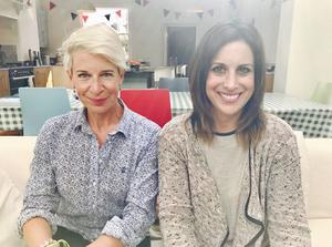 Katie Hopkins and Lucy Kennedy.  PIC: Lucy Kennedy Twitter