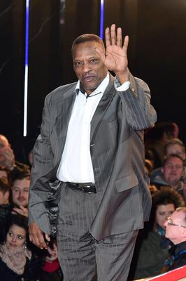 Alexander O'Neal entering the Celebrity Big Brother house at the start of the latest series of the Channel 5 programme at Elstree Studios, Borehamwood. PRESS ASSOCIATION Photo. Picture date: Wednesday January 7, 2015. Photo credit should read: Ian West/PA Wire