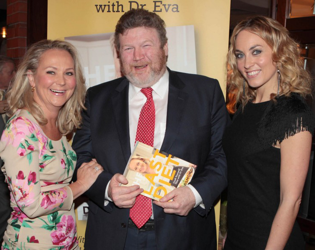 Minister for Health, Dr James Reilly with Dr Eva Or
