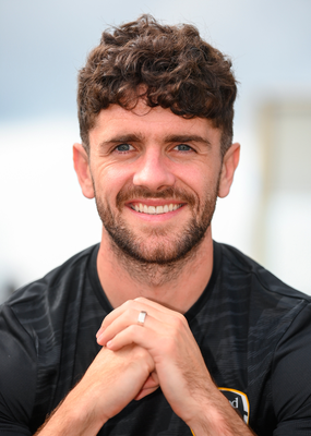 1 September 2020; Robbie Brady poses for a portrait following a Republic of Ireland virtual press conference with media at their team hotel in Castleknock, Dublin. Photo by Stephen McCarthy/Sportsfile