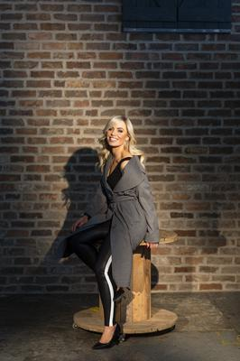 Anna wears: Coat, Poco by Pippa, Top, H&M, Leggings, Spanx, Brown Thomas, Shoes, River Island. Jewellery and watch throughout, Anna's own. Photo: Kip Carroll