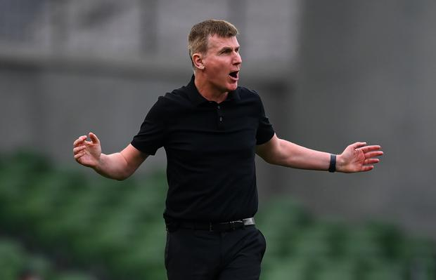 Republic of Ireland manager Stephen Kenny. Photo by Stephen McCarthy/Sportsfile