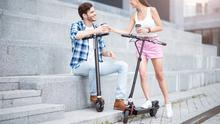 Two wheels good: E-scooters are widely used across Europe