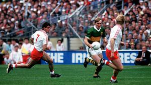 Pat Spillane won eight All-Ireland medals during an illustrious career with Kerry. Picture credit; Ray McManus / SPORTSFILE