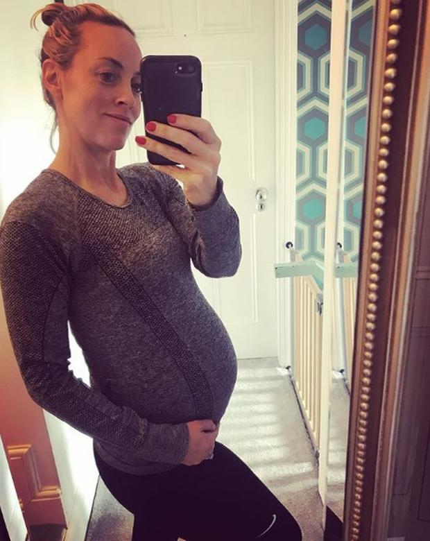 Kathryn Thomas is expecting her first child