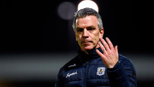 Galway manager Padraic Joyce during the Allianz Football League Division 1 Round 2 defeat to Kerry at Austin Stack Park in Tralee on Saturday night. Photo: Diarmuid Greene/Sportsfile