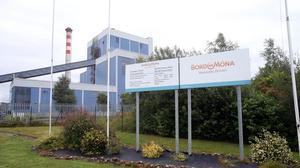 The Bord na Móna plant in Edenderry, Co Offaly. (Niall Carson/PA)