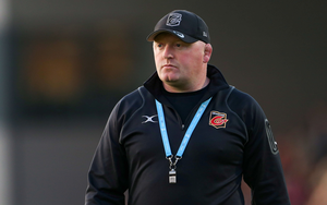 Bernard Jackman left his role as Dragons head coach in December 2018. Photo by Chris Fairweather/Sportsfile
