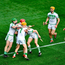 Ballyhale Shamrocks players celebrate after retaining their All-Ireland SHC club title. Photo: Ray McManus/Sportsfile