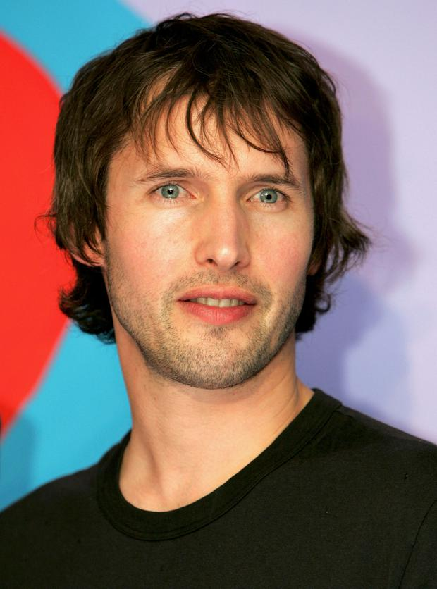 James Blunt poses at the press launch for the MTV Europe Music Awards 2005, at The Hospital on September 27, 2005 in London, England. The 12th annual music awards will take place at the Atlantic Pavilion, Lisbon on November 3, 2005. (Photo by Chris Jackson/Getty Images)