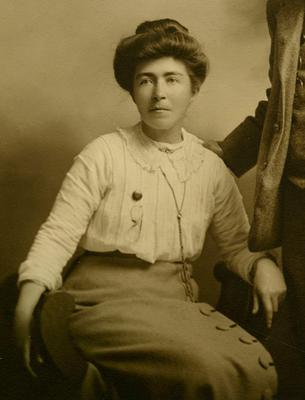 In June the work of Hanna Sheehy Skeffington is curated by Dr Margaret Ward in 'Hanna Sheehy-Skeffington: Suffragette and Sinn Feiner'