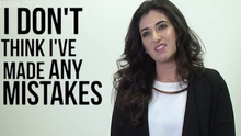 The Apprentice - Pamela Uddin doesn't think she's made any mistakes.
