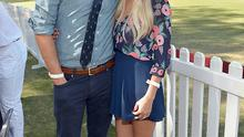 William Tell and Lauren Conrad attend the Fifth-Annual Veuve Clicquot Polo Classic at Will Rogers State Historic Park