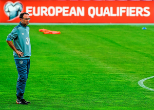 'It was hard to feel the love for the Ireland team last Monday night. In a half-empty stadium, Ireland spent 45 minutes seemingly engaged in an exercise which would demonstrate to those who had bothered to come that they should have found something better to do'