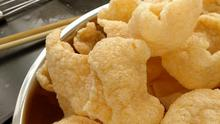 Shortages: Prawn crackers are one Chinese foodstuff which may be scarce as a result of the virus
