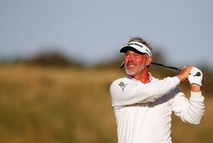 Darren Clarke. Photo: Dean Mouhtaropoulos/Getty Images
