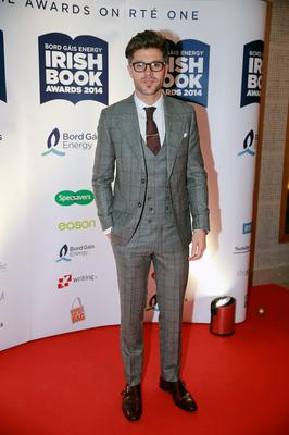 Darren Kennedy at the Bord Gais Energy Irish Book Awards at the Double Tree by Hilton Hotel in Dublin. Picture:Arthur Carron